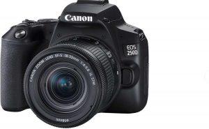 Canon EOS 250D Black 18-55 STM + 50mm f/1.8 STM