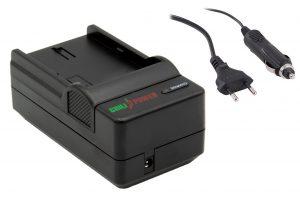 ChiliPower Canon LP-E12 oplader - stopcontact en autolader