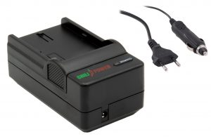 ChiliPower Canon NB-6L en NB-6LH oplader - stopcontact en autolader