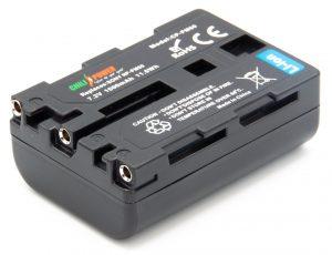 ChiliPower Sony NP-FM50 accu - 1600mAh