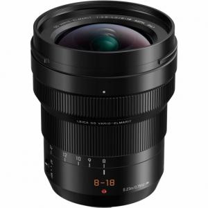Panasonic H-E08018E Leica 8-18mm/f2.8-4.0 Black