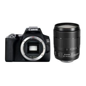 Canon EOS 250D DSLR Zwart + 18-135mm IS USM