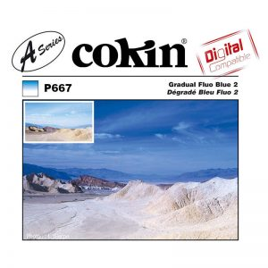 Cokin Filter A667 Gradual Fluo Blue 2