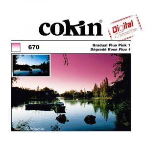 Cokin Filter Z670 Gradual Fluo Pink 1