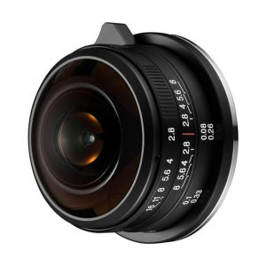 Laowa 4mm f/2.8 Circulair Fisheye MFT-mount objectief
