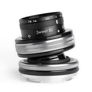 Lensbaby Composer Pro II met Sweet 80 Nikon Z-mount objectief