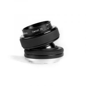 Lensbaby Composer Pro met Sweet 35 Optic Olympus FT-mount objectief