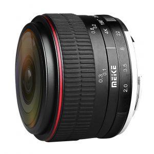 Meike MK-6.5mm f/2.0 Fisheye Canon EF-M-mount objectief