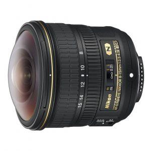 Nikon AF-S 8-15mm f/3.5-4.5E ED Fisheye objectief
