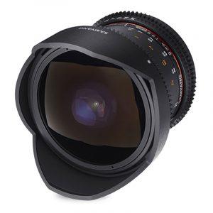 Samyang 8mm T3.8 UMC VDSLR fisheye CSII Fujifilm X-mount objectief