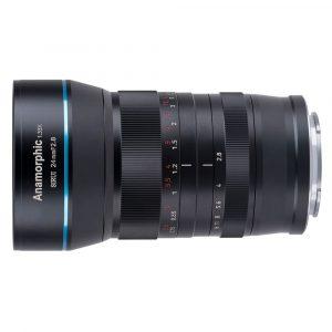 Sirui 24mm f/2.8 Anamorphic 1.33x Micro 4/3 mount