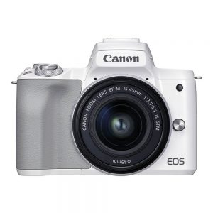 Canon EOS M50 Mark II systeemcamera Wit + 15-45mm IS STM