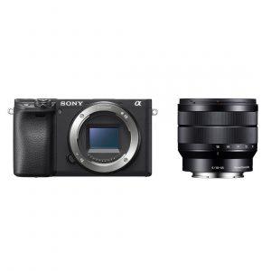 Sony Alpha A6400 systeemcamera Zwart + 10-18mm f/4.0