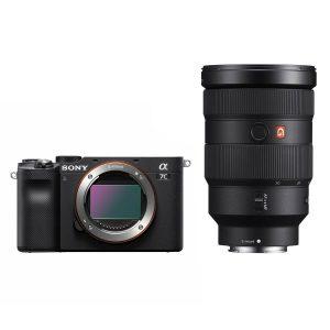 Sony Alpha A7C systeemcamera Zwart + FE 24-70mm f/2.8 GM