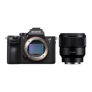 Sony Alpha A7R III systeemcamera + 85mm f/1.8