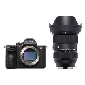 Sony Alpha A7R III systeemcamera + Sigma 24-70mm f/2.8 DG DN Art objectief
