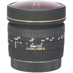 Tweedehands Sigma 8mm f/3.5 EX DG Fisheye Canon CM2606
