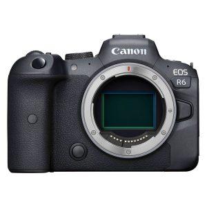 Canon EOS R6 systeemcamera Zwart + RF 50mm f/1.8 STM