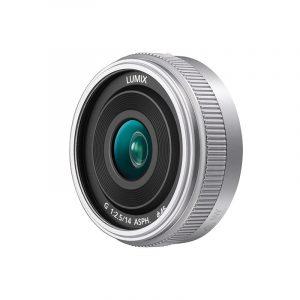 Panasonic Lumix G 14mm f/2.5 II ASPH objectief Zilver