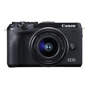 Canon EOS M6 Mark II systeemcamera + 15-45mm + EVF-DC2
