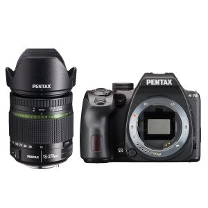 Pentax K-70 DSLR Zwart + 18-270mm
