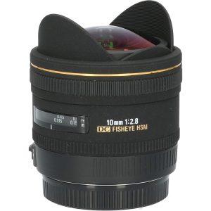 Tweedehands Sigma 10mm f/2.8 EX DC HSM Diagonal Fisheye Canon CM3312